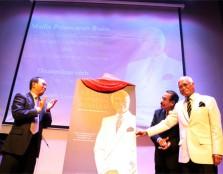 Yang Amat Berbahagia Tun Musa Hitam, Malaysia's 5th Deputy Prime Minister (far left), launches the book by UCSI University Chancellor, Tan Sri Datuk Seri Panglima Dr. Abdul Rahman Arshad entitled Abdul Rahman Arshad: Kenangan Sepanjang Jalan and Unity and
