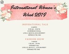 International Women's Week 2019