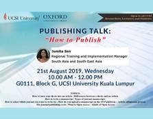 OXFORD PUBLISHING TALK