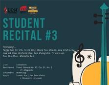 STUDENT RECITAL #3