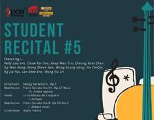 STUDENT RECITAL #5
